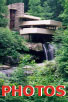 [Pictures of Fallingwater Photos visit button]